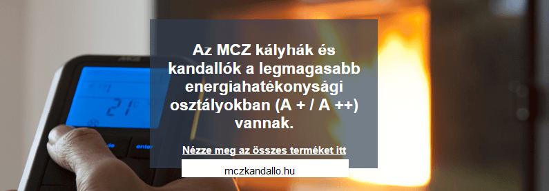 MCZ kandallók kályhák